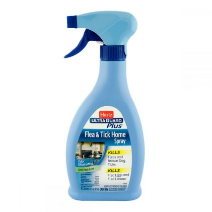 Hartz UltraGuard Plus Flea & Tick Home Spray Инсектоакарицидный спрей для обработки помещений