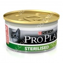 Purina Pro Plan Sterilised Консервы для стерилизованных кошек Паштет с тунцом и лососем