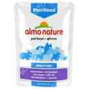 Almo Nature Sterilised (пауч) Кон...
