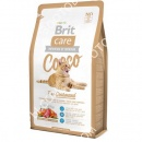 Brit Care COCCO Gourmand Гипоаллергенный корм для кошек с уткой и лососем + Лакомства для кошек Trixie 42717 Premio Cheese Chicken Cubes с сыром и мясом птицы