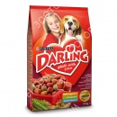 Darling (Дарлинг) корм для собак с мясом + Petstages Chew Chain гусеница для жевания