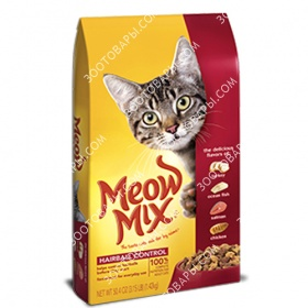 Meow Mix Cat Hairball Control (Мяу Микс)