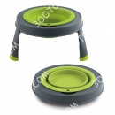 Dexas Single Elevated Pet Bowl Ми...