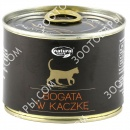 Dolina Noteci Natural Taste Cat Консервы для кошек с уткой