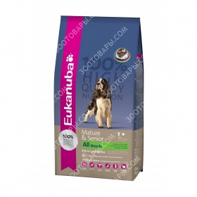 Eukanuba (Еукануба) Mature and Senior All Breed Lamb and Rice