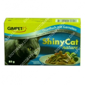 Gimpet ShinyCat Nature (Джимпет Натюр) Тунец и креветка