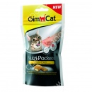 GimCat Nutri Pockets with Cheese & Taurine Лакомства для кошек с сыром и таурином