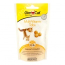 GimCat Every Day Multi-Vitamin Tabs Лакомства для кошек Мультивитамин