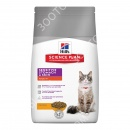 Hills Science Plan Feline Adult Sensitive Stomach&Skin Chicken Сухой корм для кошек с курицей