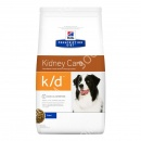 Hills Prescription Diet Canine k/d Лечебный сухой корм для собак + Игрушка для собак Trixie Каучуковый мяч с пищалкой