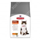 Hills Science Plan Feline Adult Hairball Control Chicken Сухой корм для кошек с курицей
