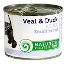 Nature's Protection Adult Small Veal & Duck Консервы для собак малых пород с телятиной и уткой