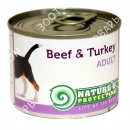 Nature\'s Protection Adult Beef & ...