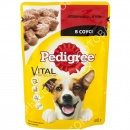 Pedigree Vital Protection (пауч) Консервы для собак с говядиной и ягненком в соусе