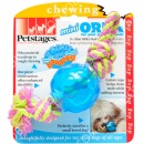 Petstages mini ORKA Ball with Rop...