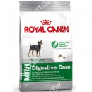 Royal Canin (Роял Канин) Mini Digestive Care + Мягкая игрушка для собак (Такса) Trixie 35892
