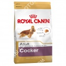Royal Canin (Роял Канин) Cocker Adult + Игрушка для собак Trixie 33550 Push to Mute Rugby Ball Регби мяч на веревке
