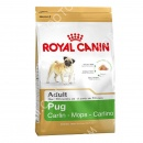 Royal Canin (Роял Канин) Pug Adult 25 + Petstages Toss & Retrieve Игрушка для крупных собак Груша с кольцом