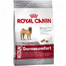 Royal Canin (Роял Канин) Medium Dermacomfort + Petstages Hearty Chew шар с канатами