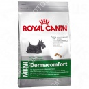 Royal Canin (Роял Канин) Mini Dermacomfort + Мягкая игрушка для собак (Ежик) Trixie 348321