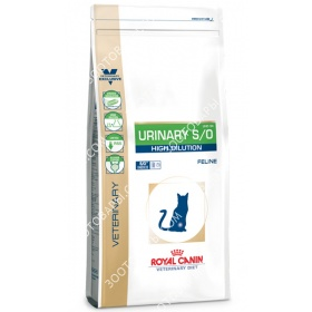 Royal Canin Urinary S/O High Dilution UHD34 Feline Лечебный корм для кошек