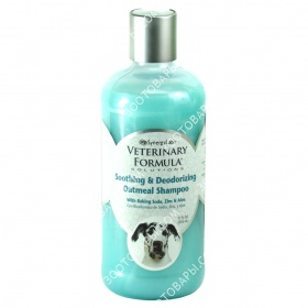 SynergyLabs Veterinary Formula Soothing and Deodorizing Oatmeal Shampoo Шампунь для собак и кошек против зуда