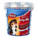 Trixie Soft Snack Bony Mix Лакомство для собак с говядиной, ягненком, лососем и курицей (ведро)